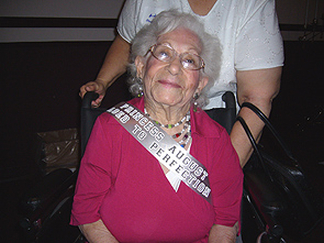 Happy 100th Birthday Ms. Augustina!!